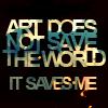 amorous seizures: art\\saves me