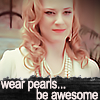 Sophie Anne, pearls