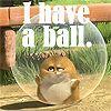 Hamster, ball