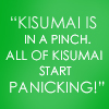 Kisumai inna Pinch Nika Quote