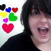 rainbow heart surprise, me