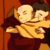 arathe: Zuko Aang hug