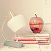 clutter on desk