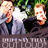 Did I say that out loud?, Britain's Got Talent, Ant/Dec