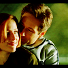 X-Files: M/S playful hug