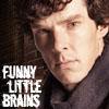 Life, extra crispy: BBC Sherlock Funny Little Brains