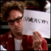 Big Bang Theory - Sarcasm sign
