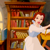 Belle (Disney's Beauty and the Beast): book (librarian work)