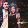 Dana: Buffy/Dean - Arm around B w sparks