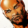 LUKE CAGE, BITCHES: just smile.