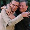 Shatner and Nimoy hugging