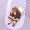 fadedincolor: Shinagawa - Toilet Despair