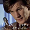 Dr Who - thing in progress