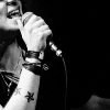 seegrim: paolo tattoo arm and mic