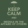Brienze: meddle mycroft