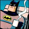 [Batman] Batman takes his black.