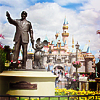 Harmony.: Disneyland Castle and Mickey statue
