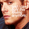 TANA PROMA ?!: dean: can't fight this feeling