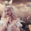 Geaven: Alice - White queen smiling