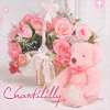 Amelie Rose, Roses, Bear, Chantililly, Angelic Pretty