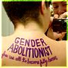 gender abolitionist