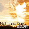 night and day - sunset H