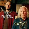 Merlin - Leon is taller than Gaius
