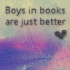 Misc - Boys in books are better