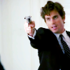 WC: Neal with a gun