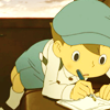 (Layton) Luke: Writing, yay!