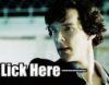 Sherlock - lick here