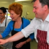 Ed Balls MP: cooking is great