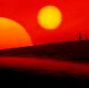 C.: tatooine red sunset cw 1