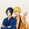 anime - naruto - older naruto&sasuke
