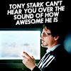 tony stark: awesome