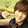 Yesung poking cheek
