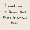 Text: Hope