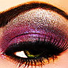 Here's a toast to the ladies with class™: eye makeup love