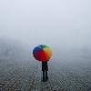 albalark: rainbow umbrella