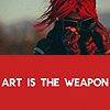 gerard: art is the weapon