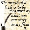 a book's worth