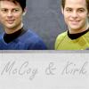 McCoy and Kirk Fleet uniforms