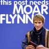 Janey...: LotS - Flynn - NEEDS MOAR!