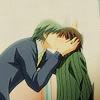 Marie: Junjou Romantica - Misaki/Usami kiss