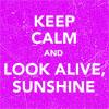 shiverelectric: look alive sunshine
