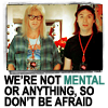 wayne's world ~ not mental