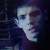 Merlin: Merlin in blue