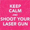 brittanykinz: MCR; Keep calm laser guns