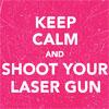 brittanykinz: MCR; Keep calm laser guns