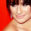 glee - lea red carpet